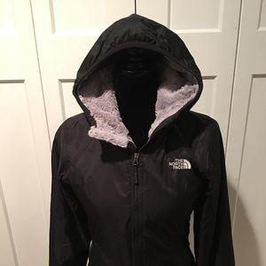 Xs cozy north face black jacket